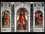 Trittico Madonna della Misericordia Vivarini Bartolomeo