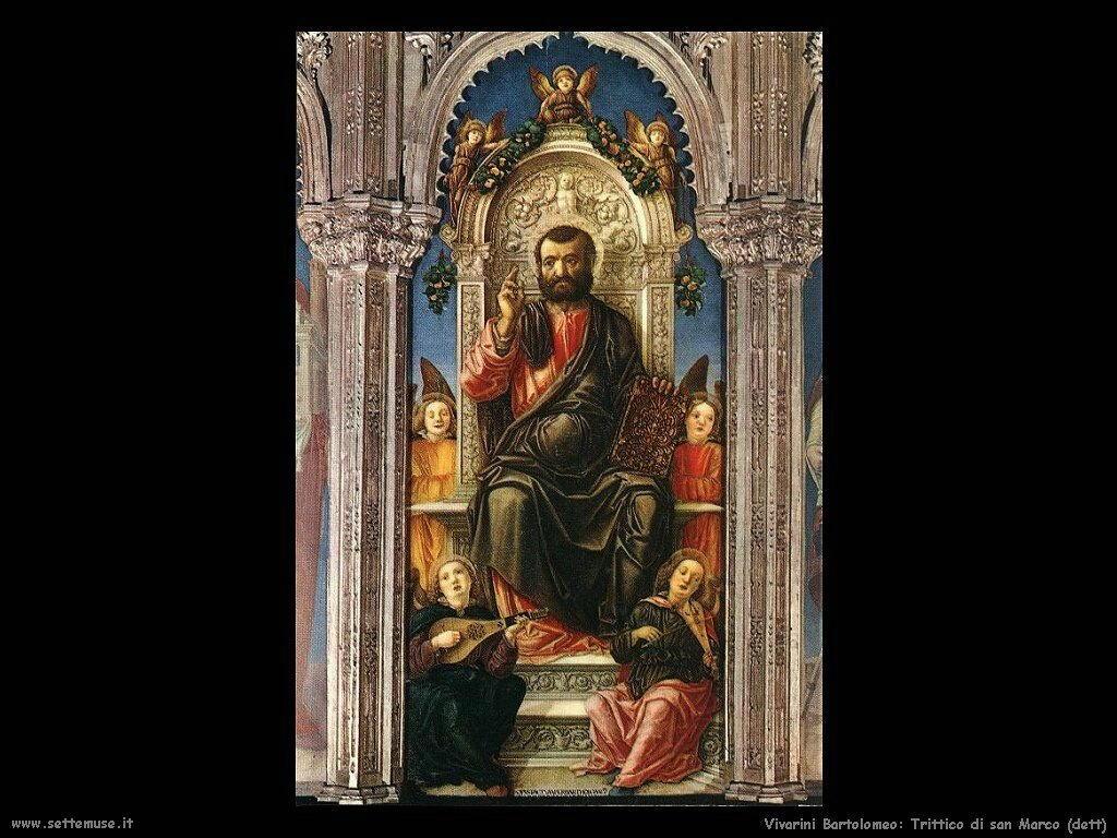 Trittico di San Marco (particolare) Vivarini Bartolomeo