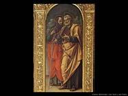 Polittico di Conversano (Particolare San Pietro e Paolo)  Vivarini Bartolomeo