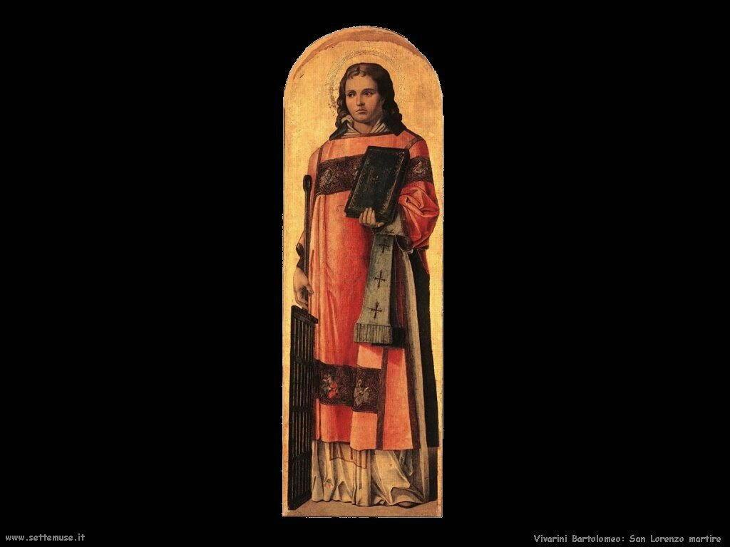 San Lorenzo Martire Vivarini Bartolomeo