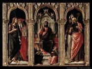 Trittico di San Marco Vivarini Bartolomeo