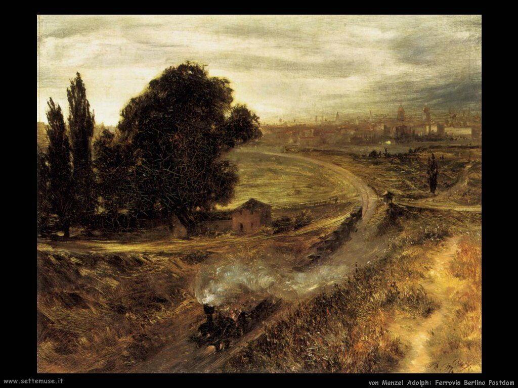 VON MENZEL ADOLPH pittore biografia foto opere | Settemuse.it