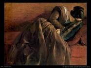 Sorella Emily addormentata Von Menzel Adolph