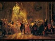 Concerto di flauto di Federico il Grande a Sanssouci Von Menzel Adolph