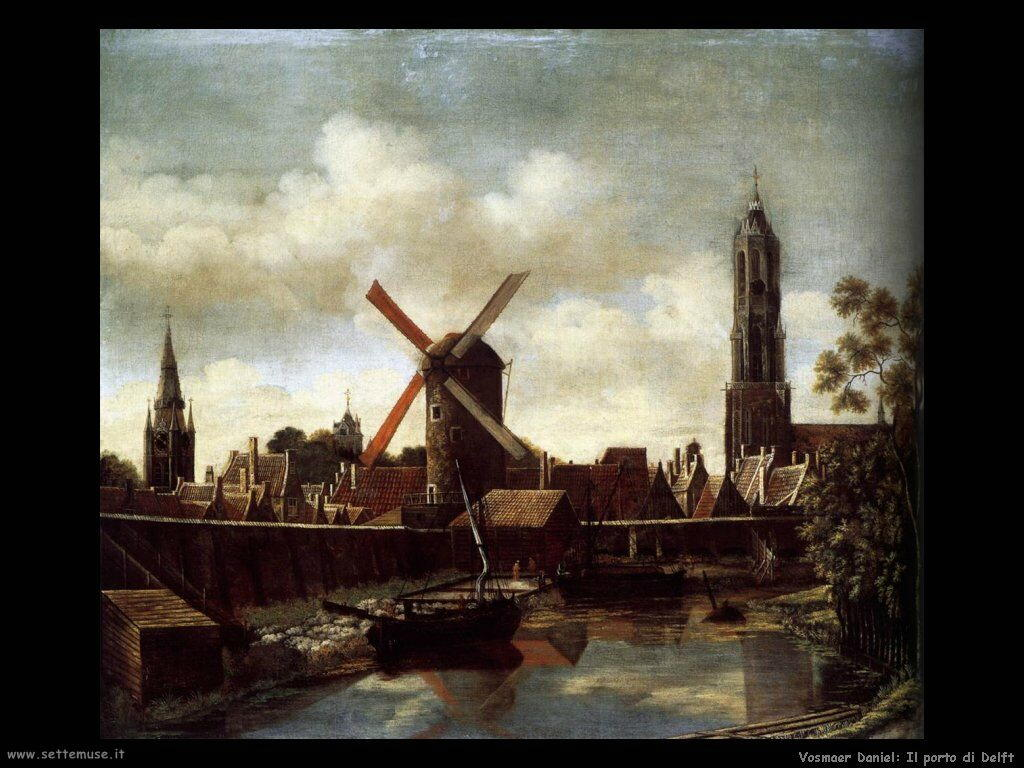 vosmaer daniel 501 the harbour of delft