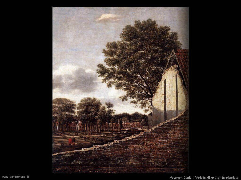 vosmaer daniel 503 view of a dutch town
