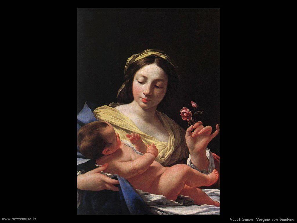 Vergine e Bambino Vouet Simon