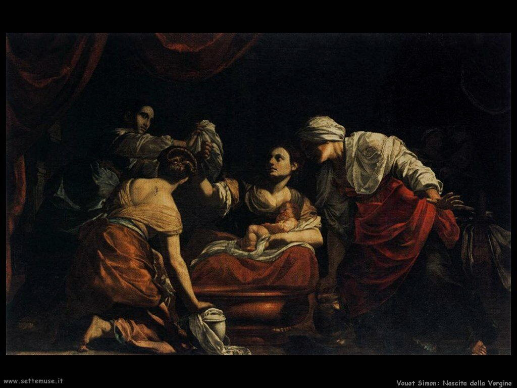 Nascita della Vergine Vouet Simon