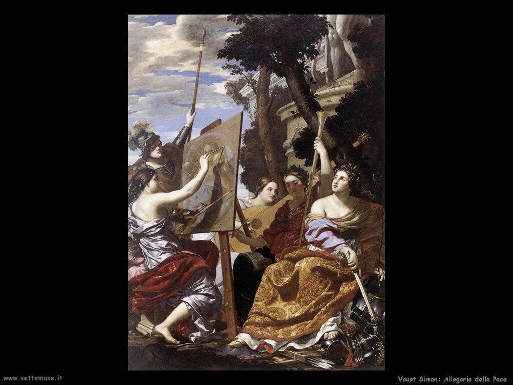 Allegoria della Pace Vouet Simon