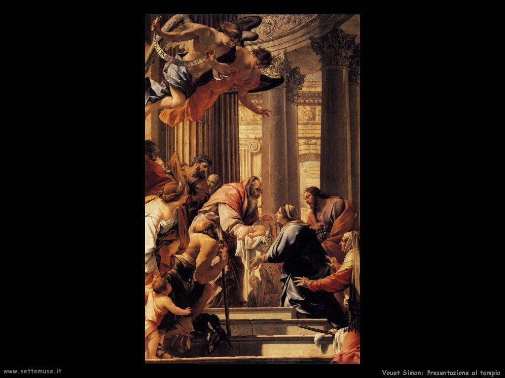 Presentazione al tempio Vouet Simon