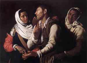 Pittura di Simon Vouet