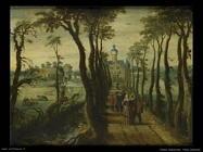 Viale di alberi Vrancx Sebastian