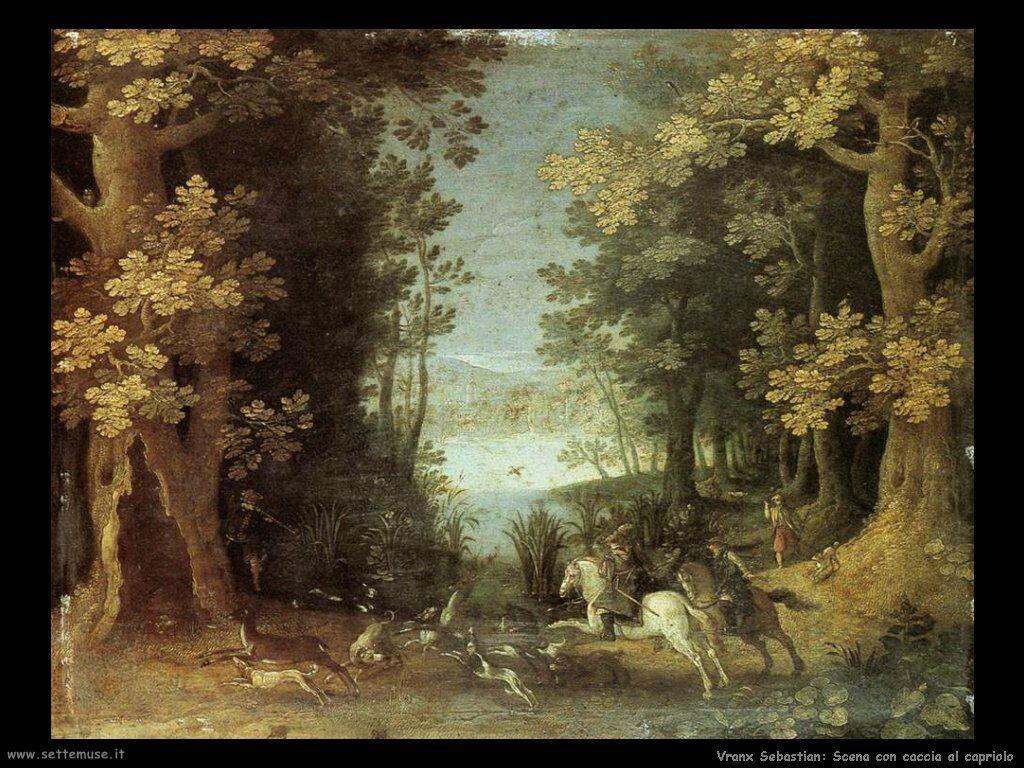 Paesaggio con caccia al cervo Vrancx Sebastian
