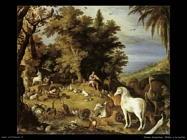 Orfeo e gli animali Vrancx Sebastian