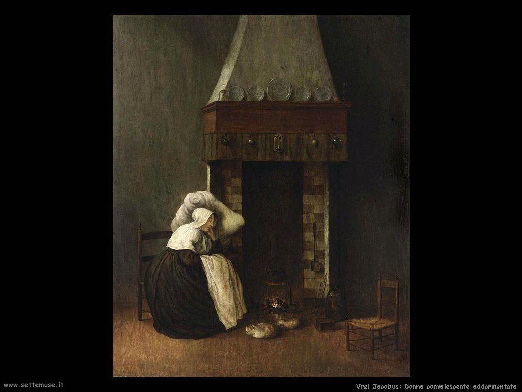 vrel jacobus 503 sleeping woman the convalescent
