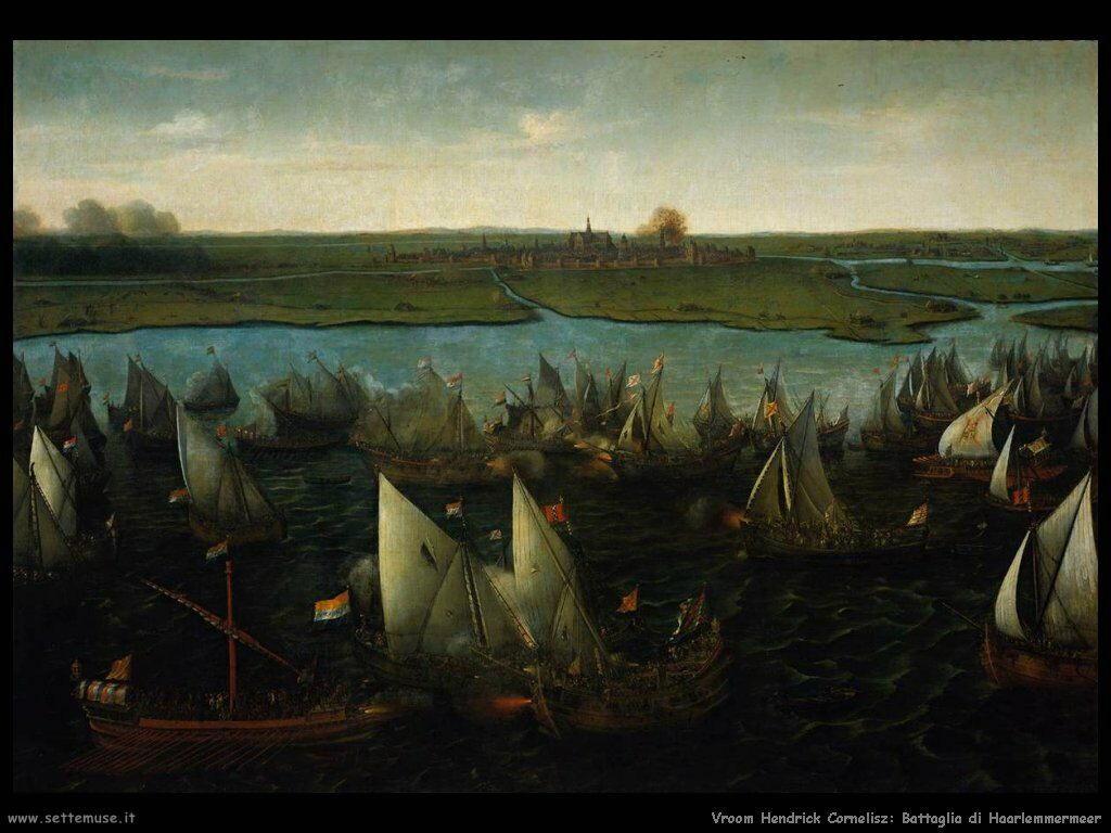 Battaglia di Haarlemmermeer Vroom Hendrick Cornelisz