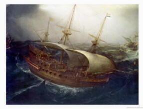 Pittura di Vroom Hendrick Cornelisz