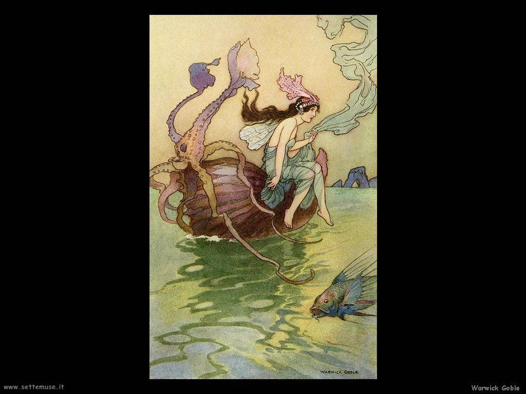 Warwick Goble illustrazione 001