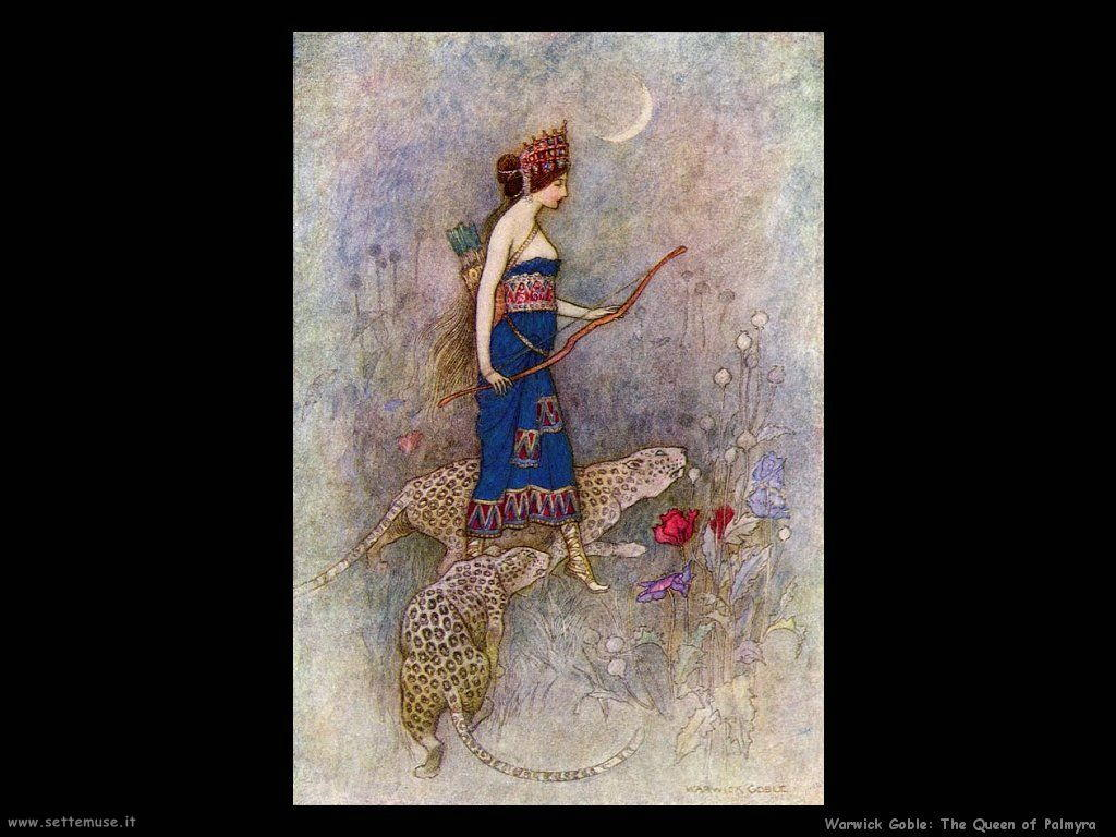 Warwick Globe Palmyra Queen of Palmyra