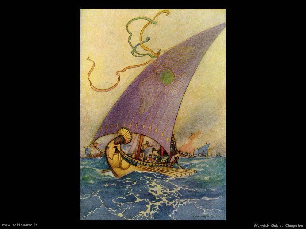 Warwick Globe illustrazioni Cleopatra