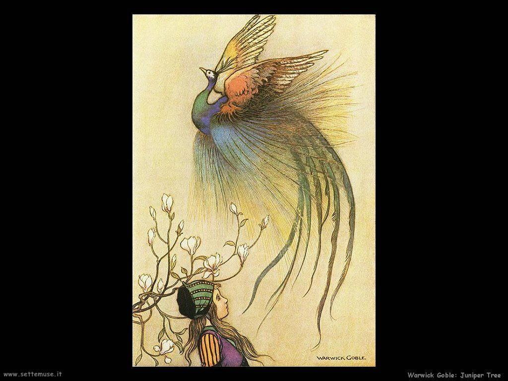 Warwick Globe illustrazioni per bambini The juniper tree
