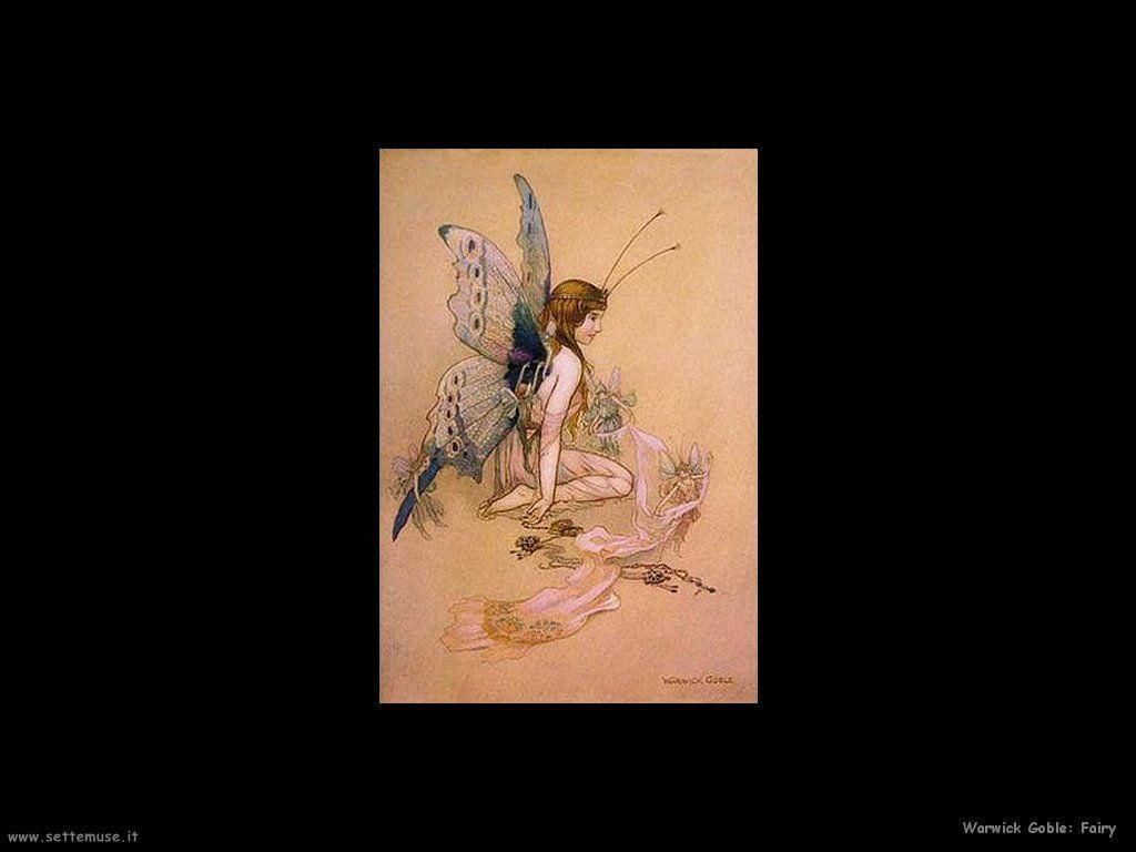 Warwick Globe illustratore di fate Fairy