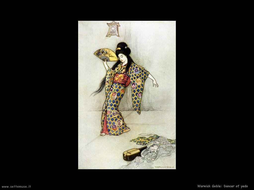 Warwick Globe illustratore Dancer of yed