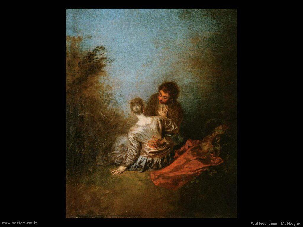 Lo scontroso Watteau Jean Antoine
