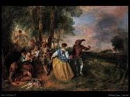 I pastorelli Watteau Jean Antoine