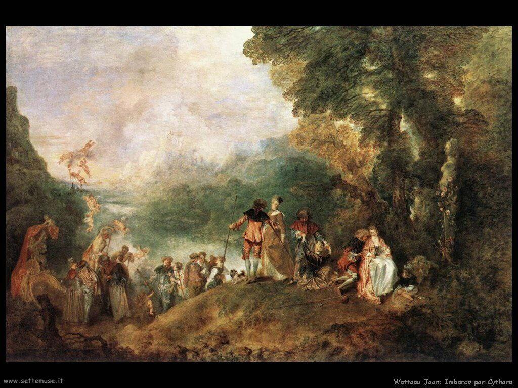 L'imbarco per Citera Watteau Jean Antoine