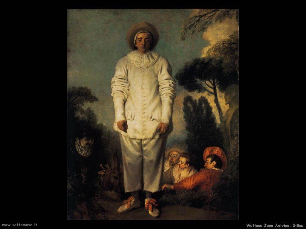 Gilles Watteau Jean Antoine