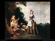 La danza Watteau Jean Antoine