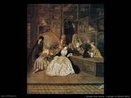Il segno di Gersaint (particolare) Watteau Jean Antoine