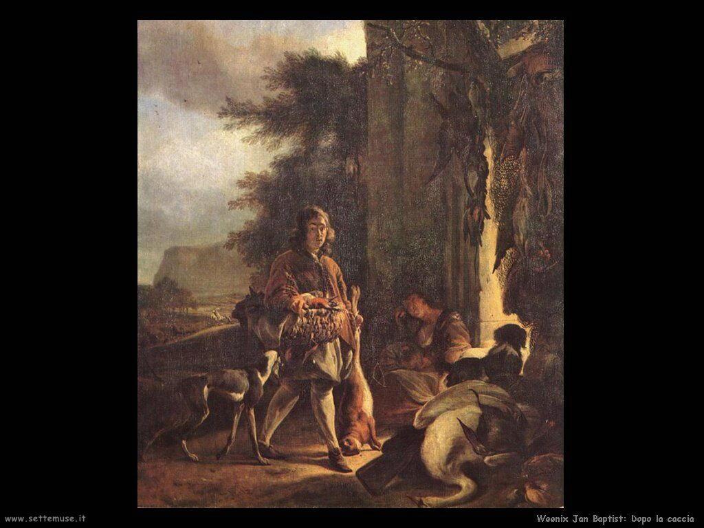 Dopo la caccia Weenix Jan Baptist