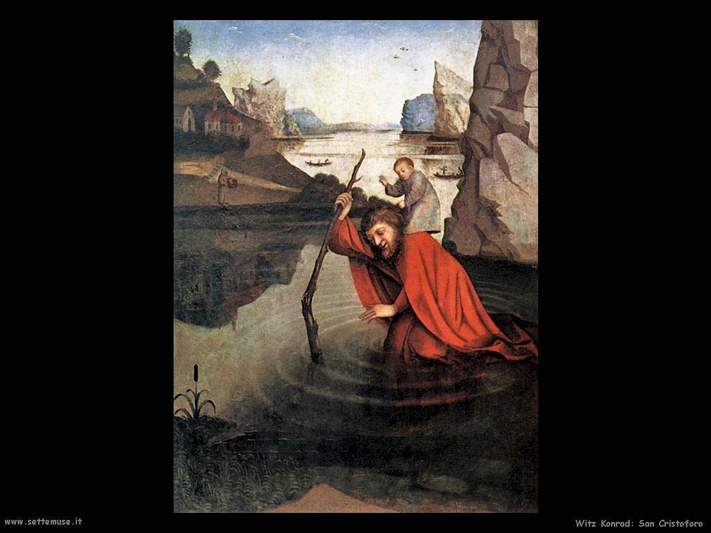 San Cristoforo Witz Konrad