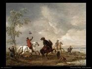 Un gruppo di uccellatori Wouwerman Philips