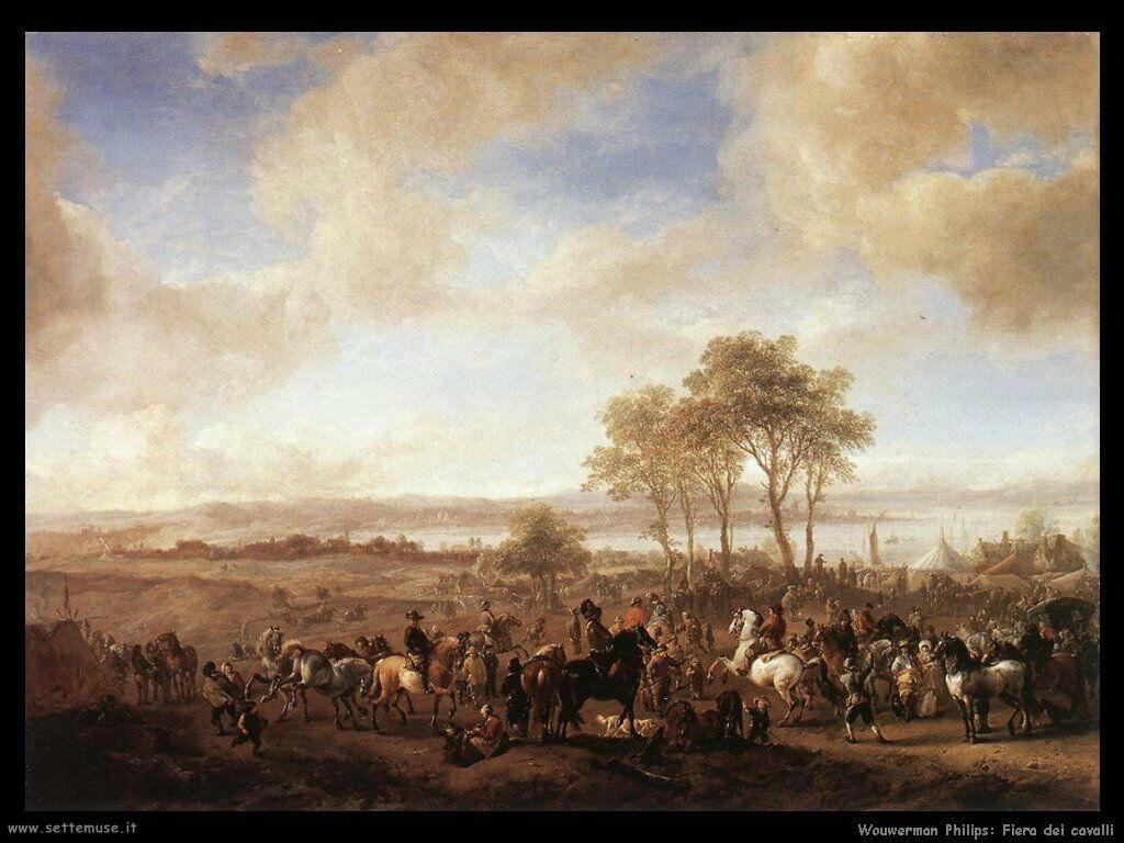 Fiera di Cavalli Wouwerman Philips
