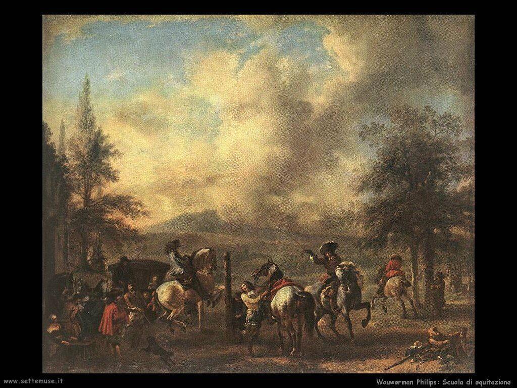 Scuola di equitazione Wouwerman Philips