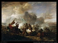 Scontro di cavalieri orientali e imperiali Wouwerman Philips