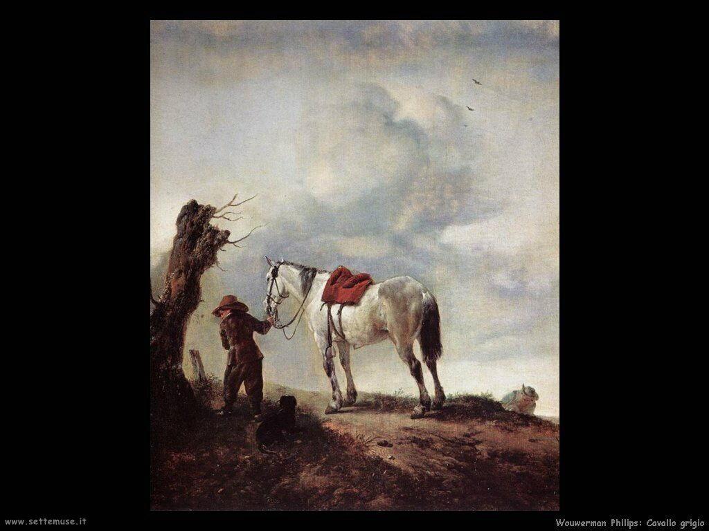 Il grigio Wouwerman Philips