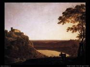 Vista del lago di Nemi Wright Joseph