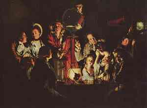 Pittura di Joseph Wright, Wright of Derby