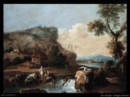Zais Giuseppe Paesaggio pastorale