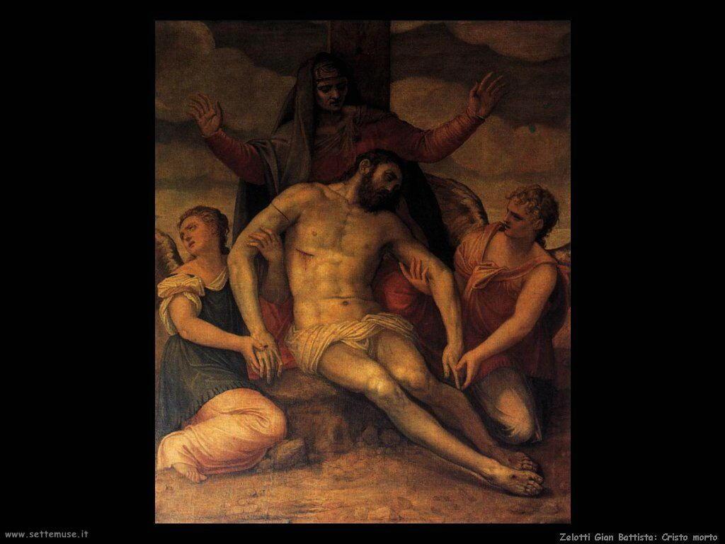 Zelotti Gian Battista Cristo morto