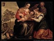 Zelotti Gian Battista Matrimonio mistico di santa Caterina