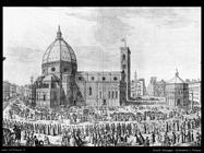Zocchi Giuseppe Cattedrale a Firenze