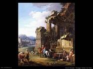 Zocchi Giuseppe Paesaggio italiano con fiume