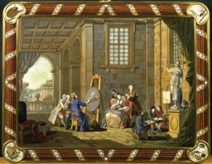 Pittura di Zocchi Giuseppe: mosaici fiorentini