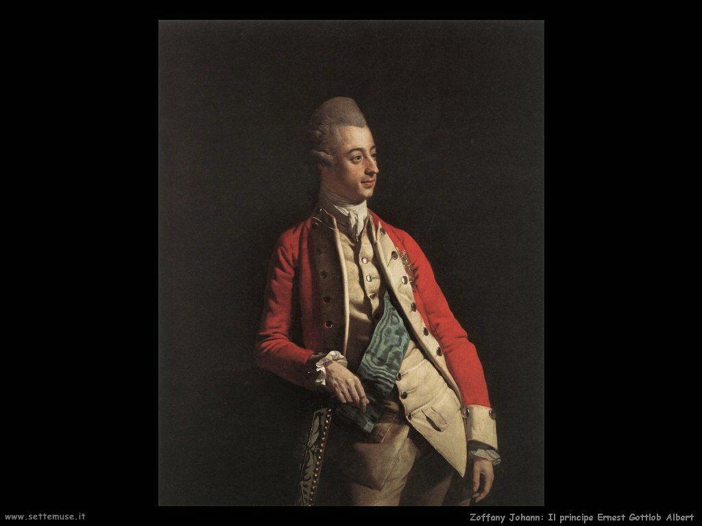 Zoffany Johann Principe Ernest Gottlob Albert