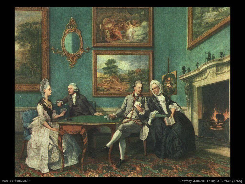 Zoffany Johann Famiglia Dutton